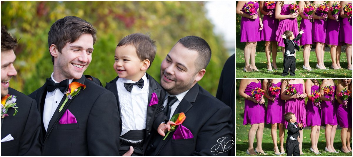 silly bridal party photos glen sanders mansion wedding
