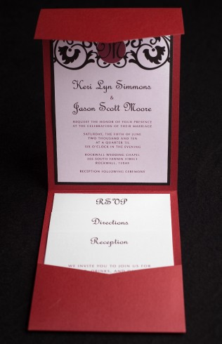 home invitations by liz