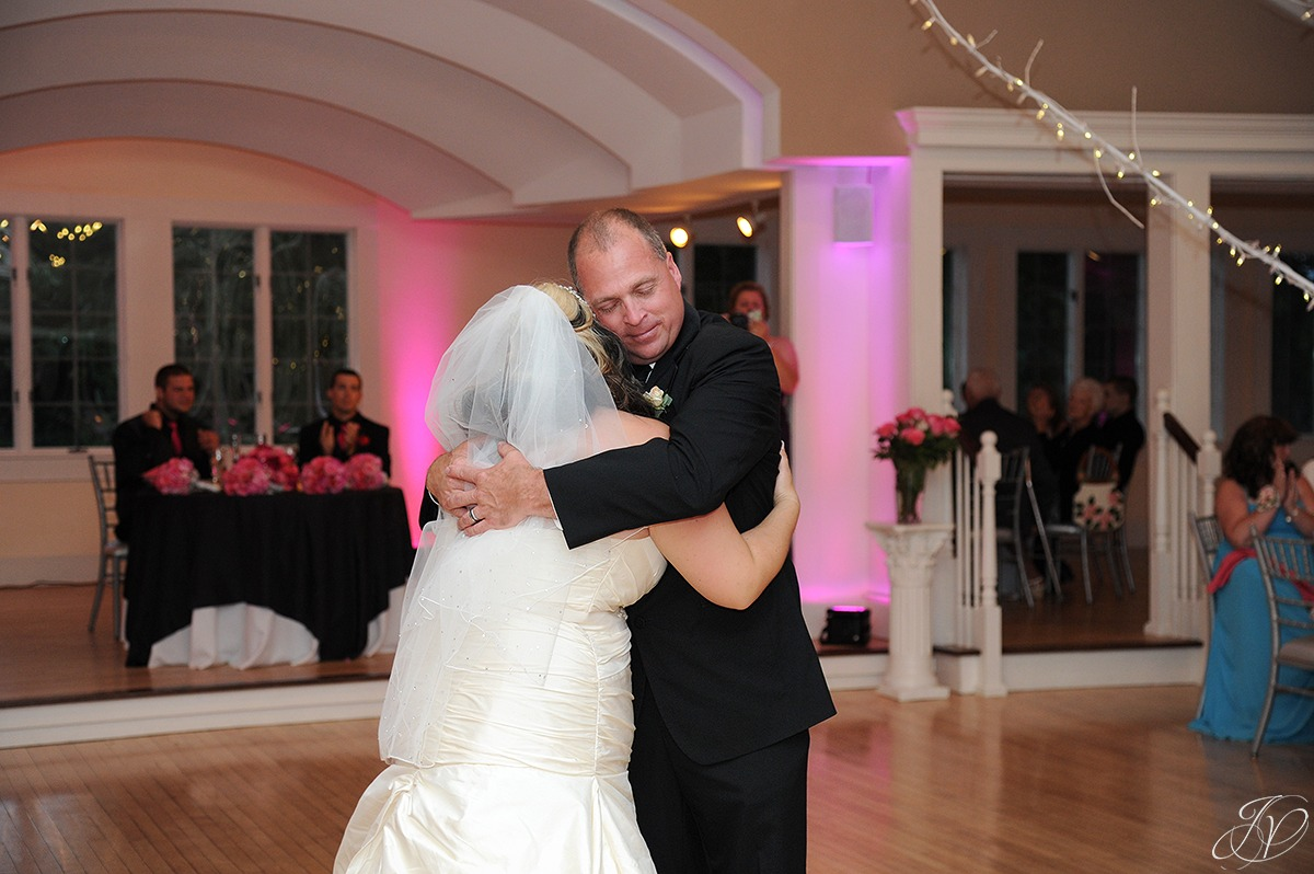 emotional bride's first dance with her father