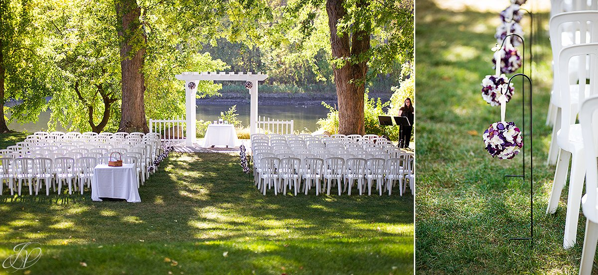 river stone manor unique ceremony details