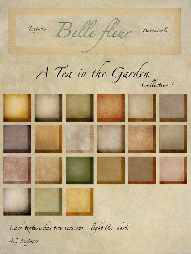 TEA BUNDLE 2018 - Belle Fluer Textures & Botanicals