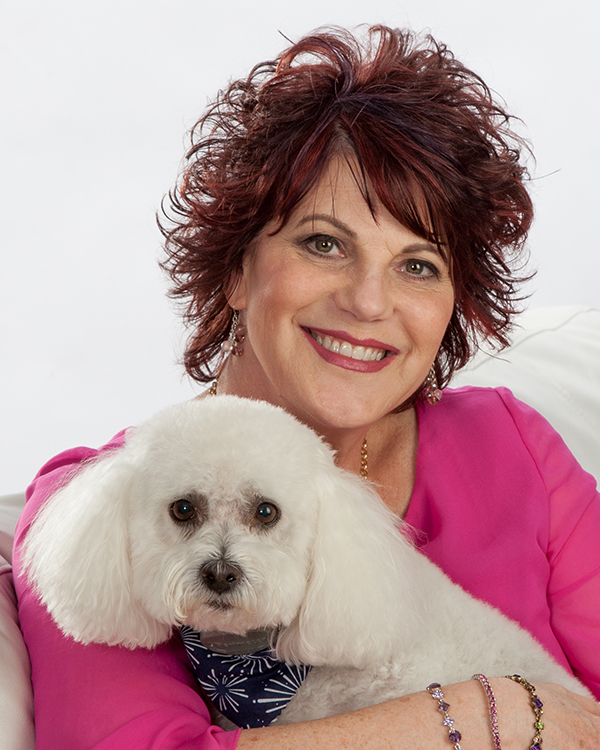 Real Estate Headshot with dog