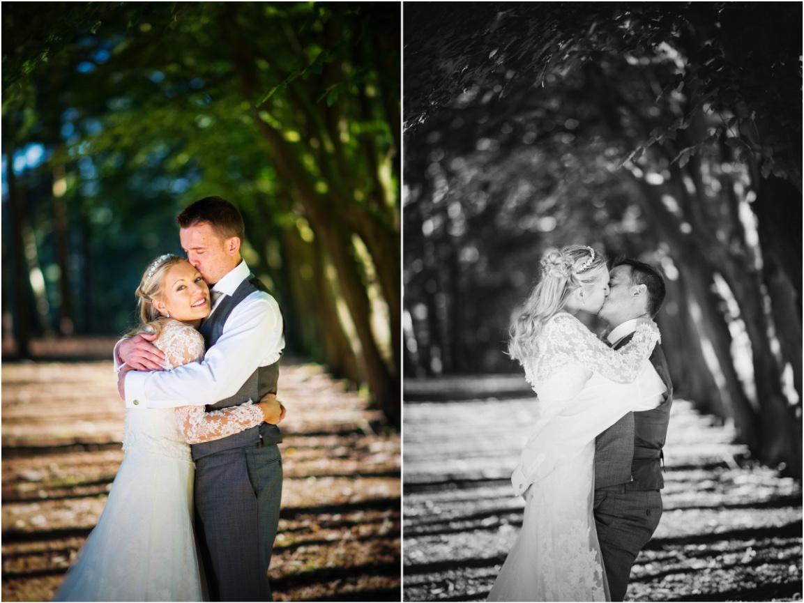 Lancashire wedding couple