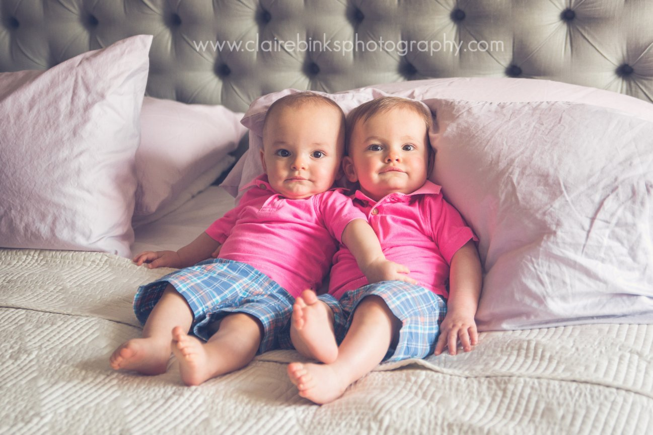 Parkdale Toronto Multiples Photographer -Sweet babies D & E- Claire Binks Photography
