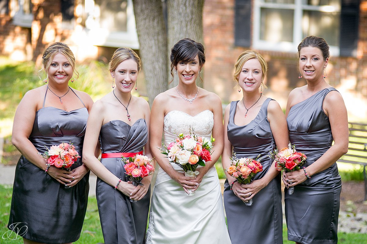 beautiful bridal party photo, century house latham ny