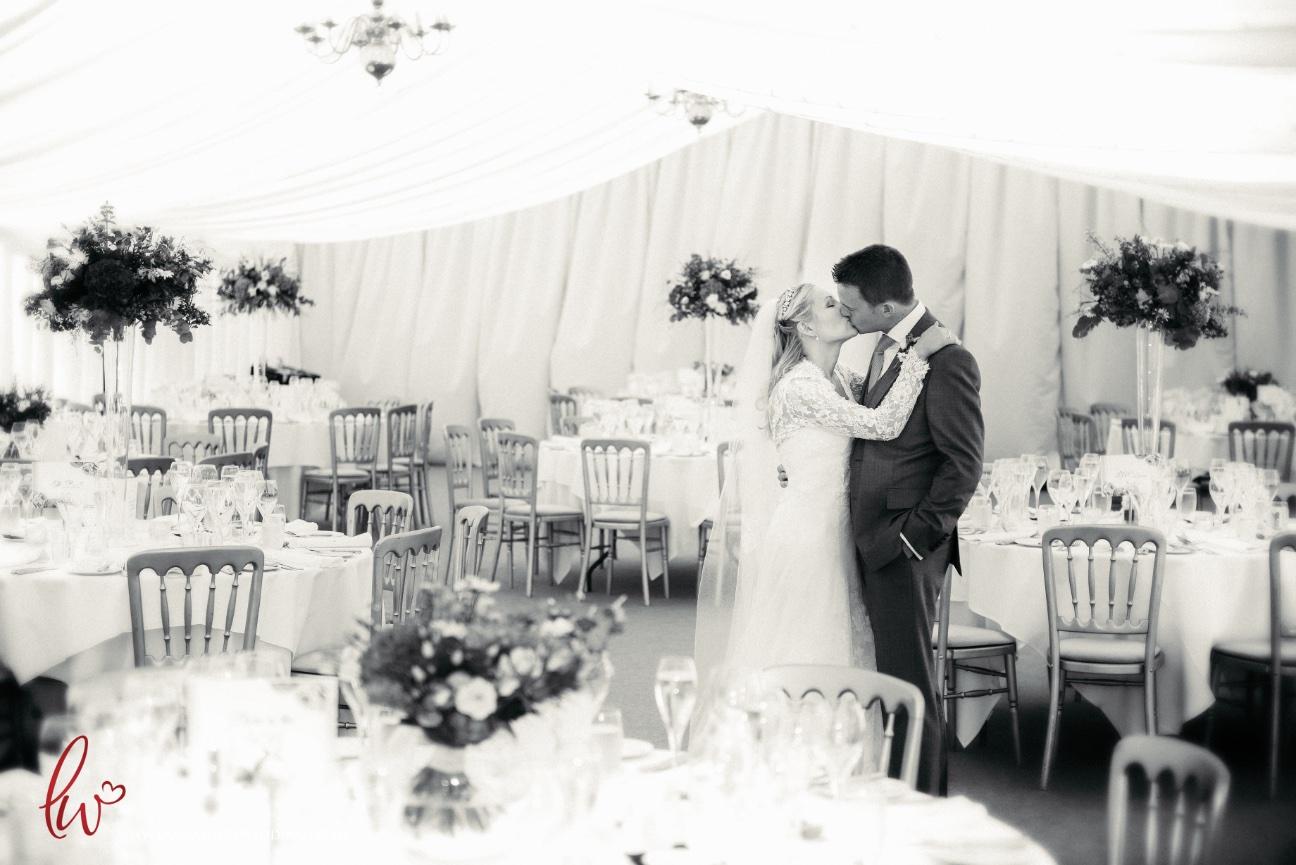 Nunsmere Hall wedding reception