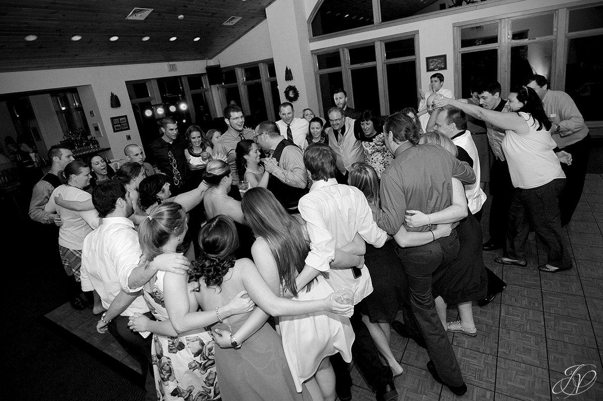 fun reception photo