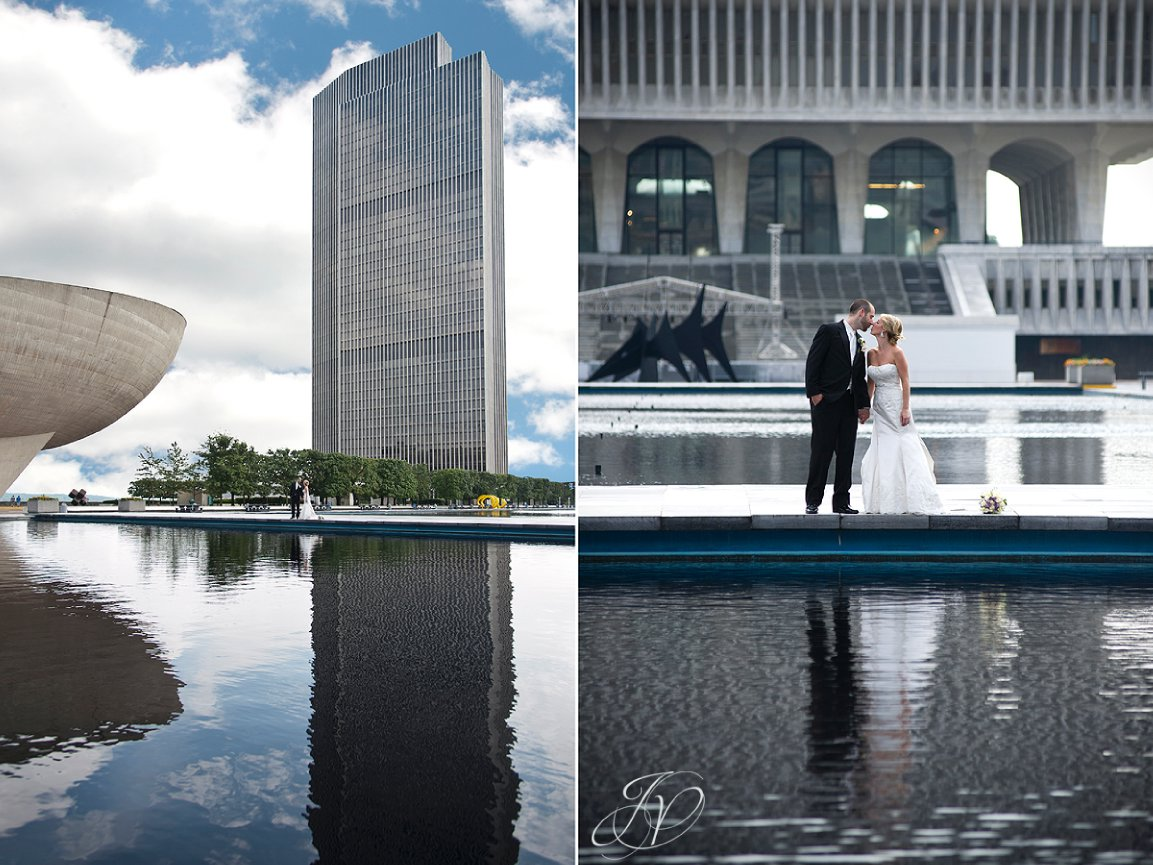 wedding photo empire state plaza, Albany Wedding Photographer, 11 North Pearl, bridal portrait photography