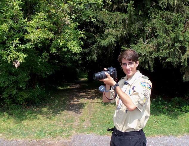 Eagle Scout, Webster, Boy Scouts, Friends of Webster Trails, Hayes Photography, Joe Fiorica, Webster Schroeder High School