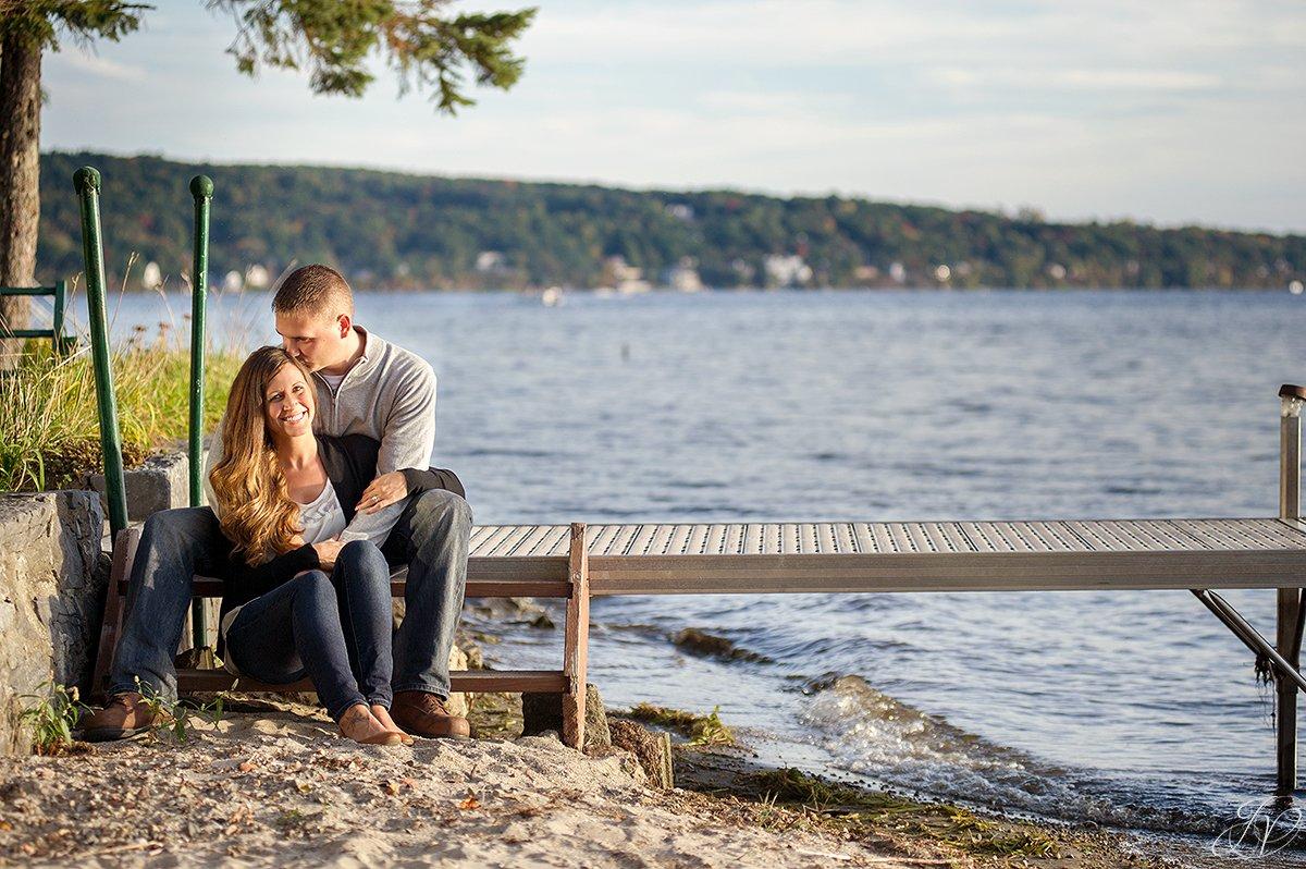beautiful beach engagement photos