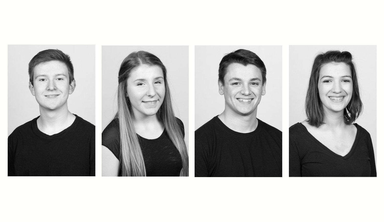 headshots, students, high school, Webster Schroeder High School, Hayes Photography