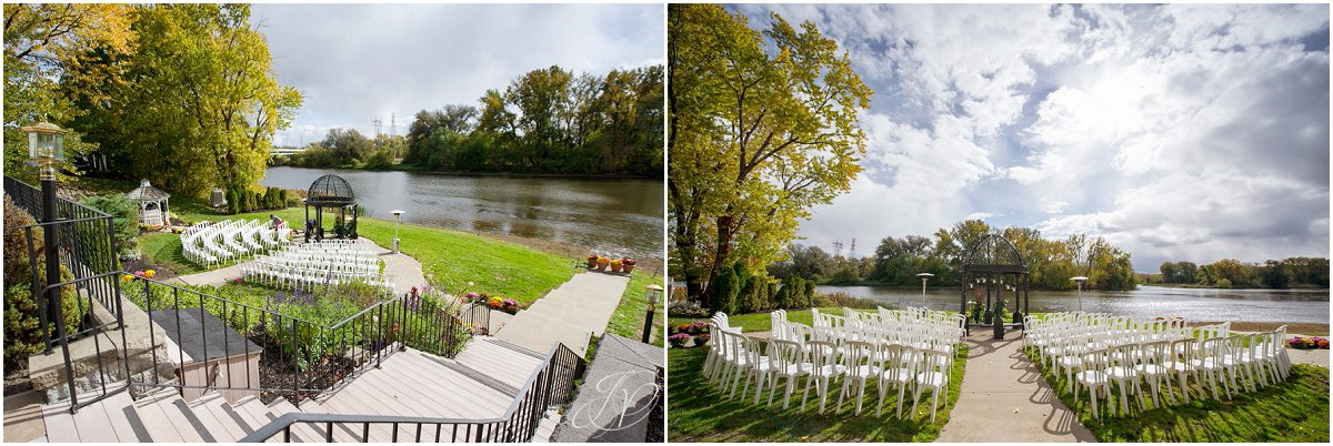 ceremony details glen sanders mansion wedding