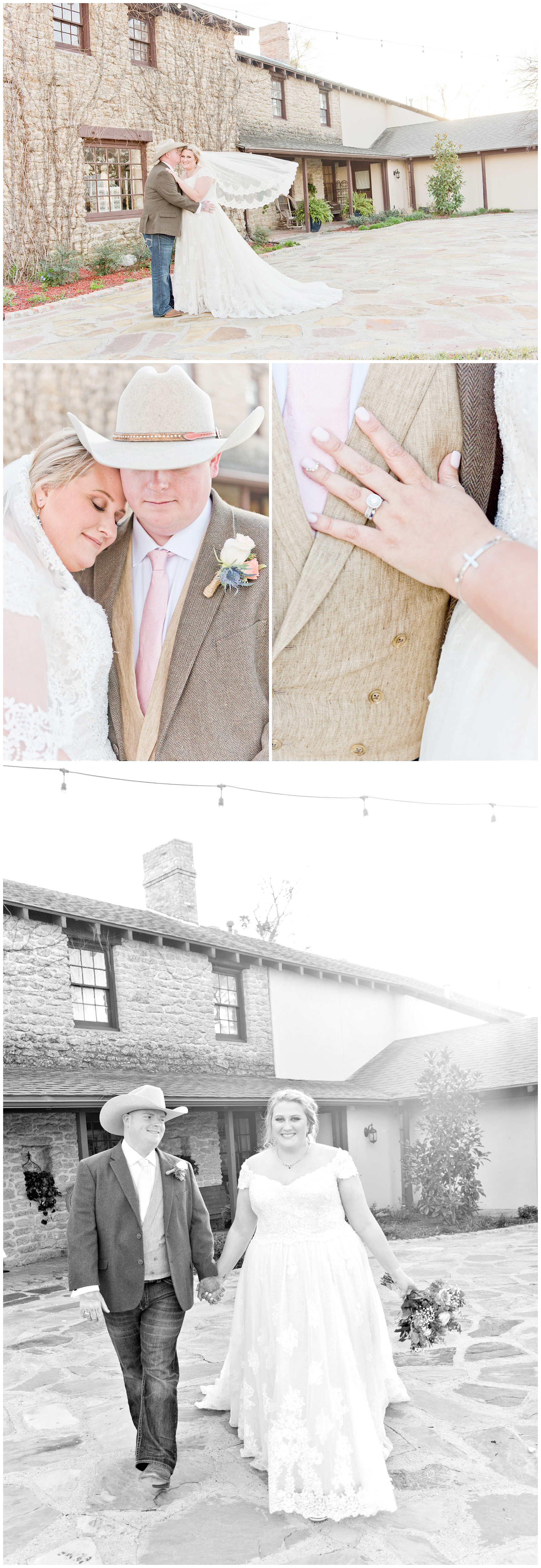 Bride and Groom Portraits Fort Worth Texas
